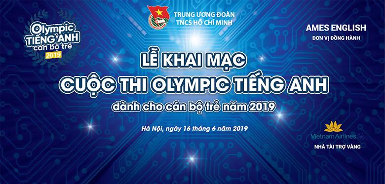 Olympic tiếng Anh Cán bộ trẻ 2019